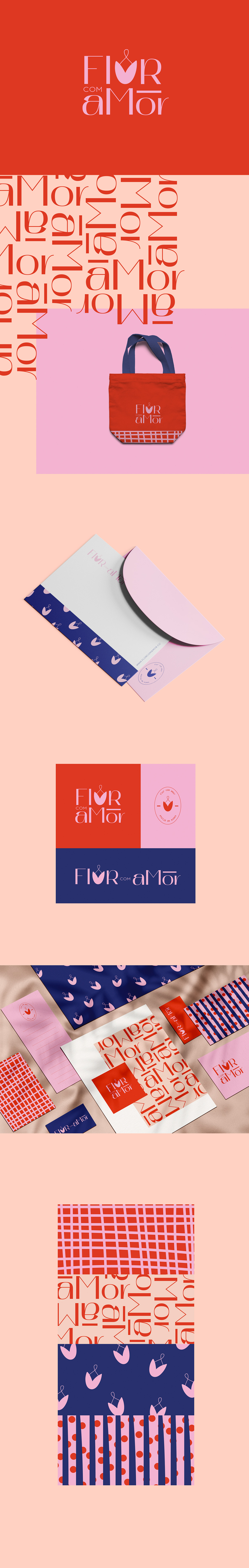 brand,cute,identity,logo,Love,pattern,prints,Stationery