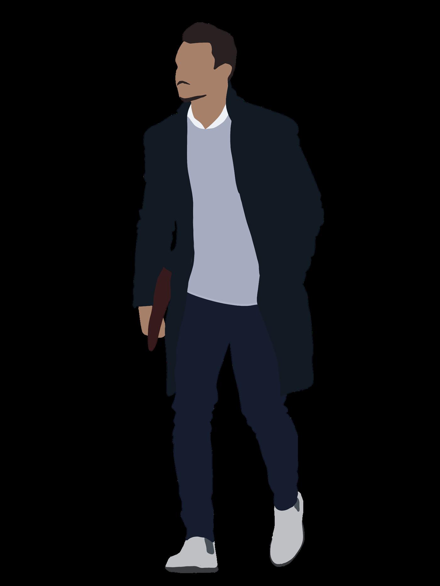 People Flat Illustration on Behance