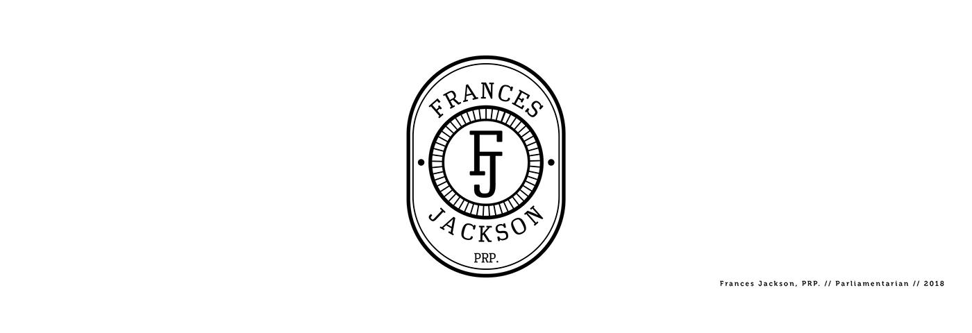 Frances Jackson, prp. logo design