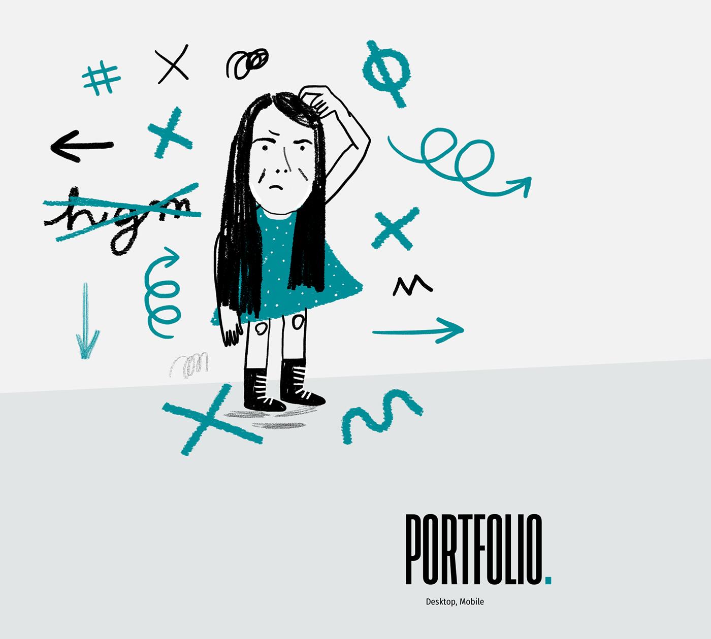 design illustrations minimal portfolio Progetto web translator typography   Web Web Design  Website