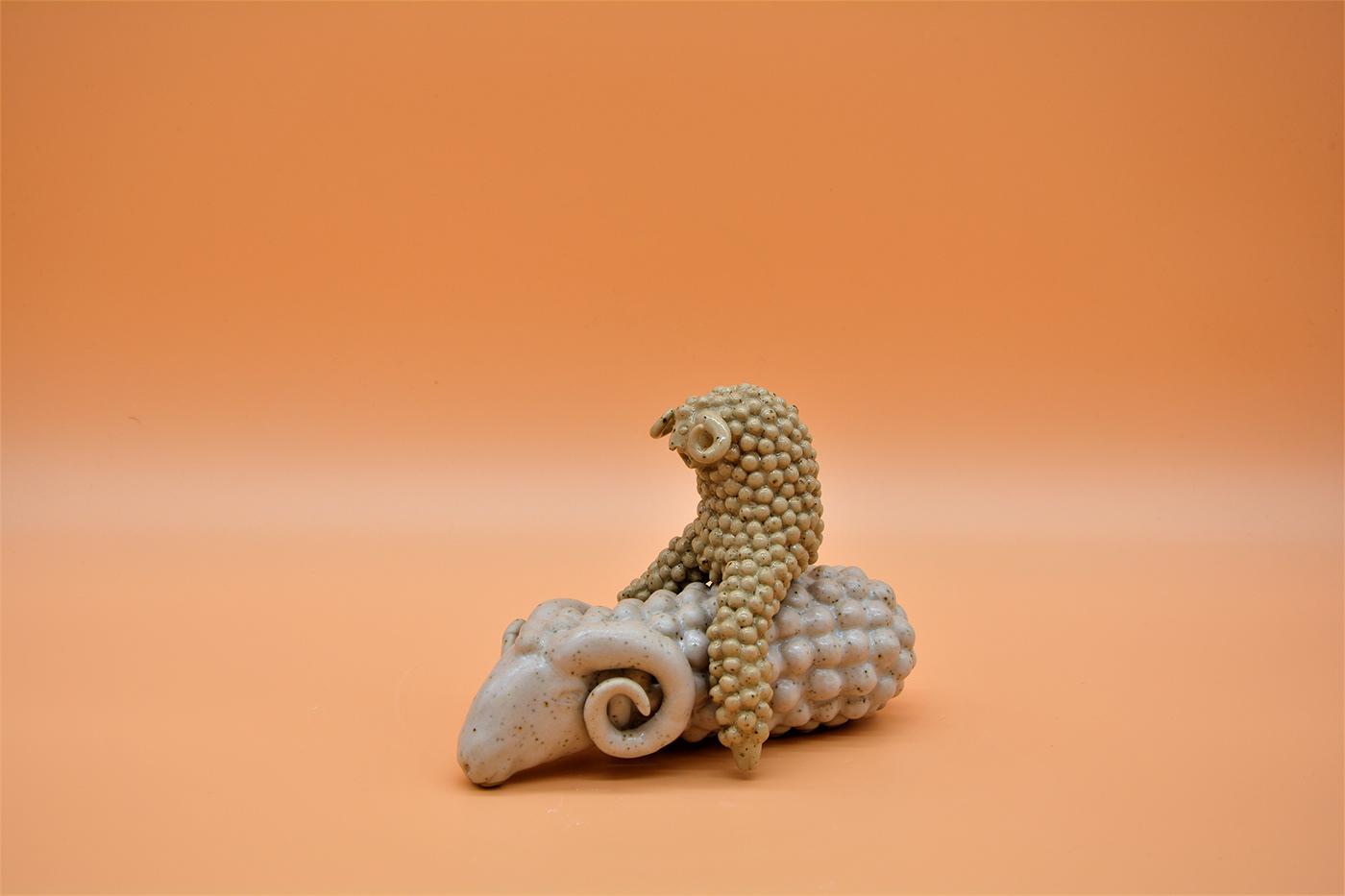 contemorary ceramic olivia weiss sculptur stoneware
