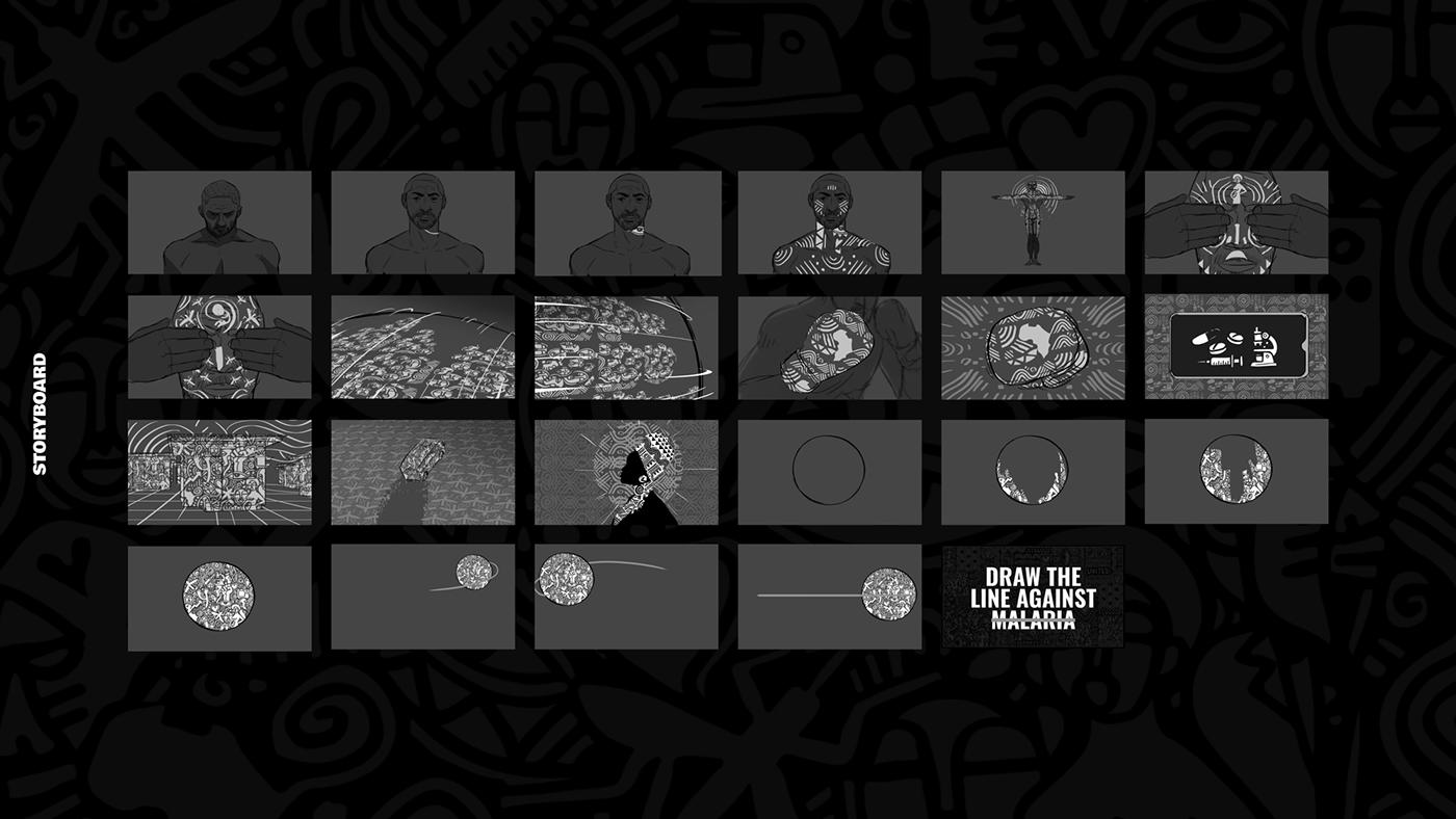 africa animation  CGI design laolu malaria mixed media motion graphics  ong
