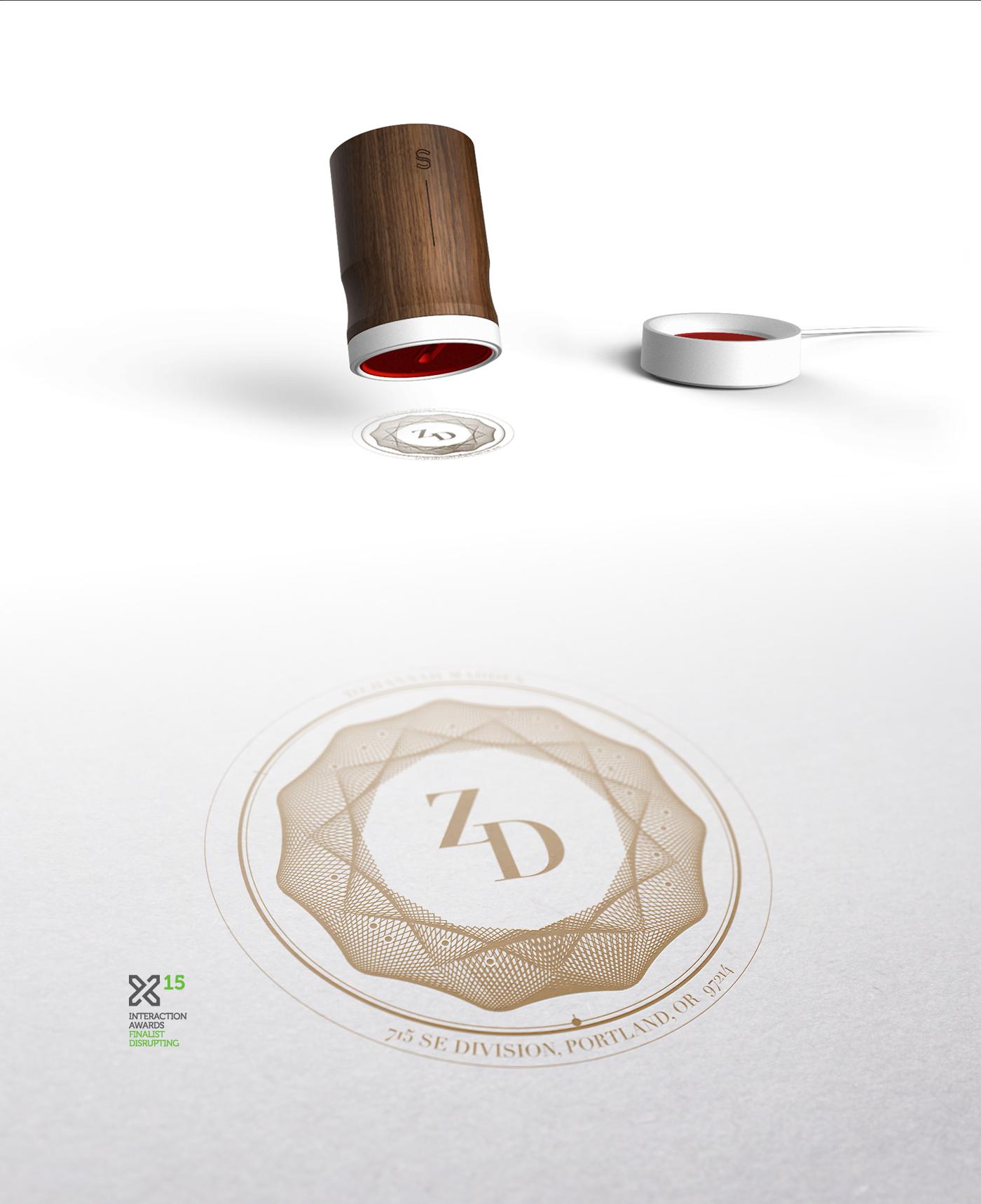 design UI ux service Signet shipping IoT innovation DISRUPTION future concept storytelling   ixda award