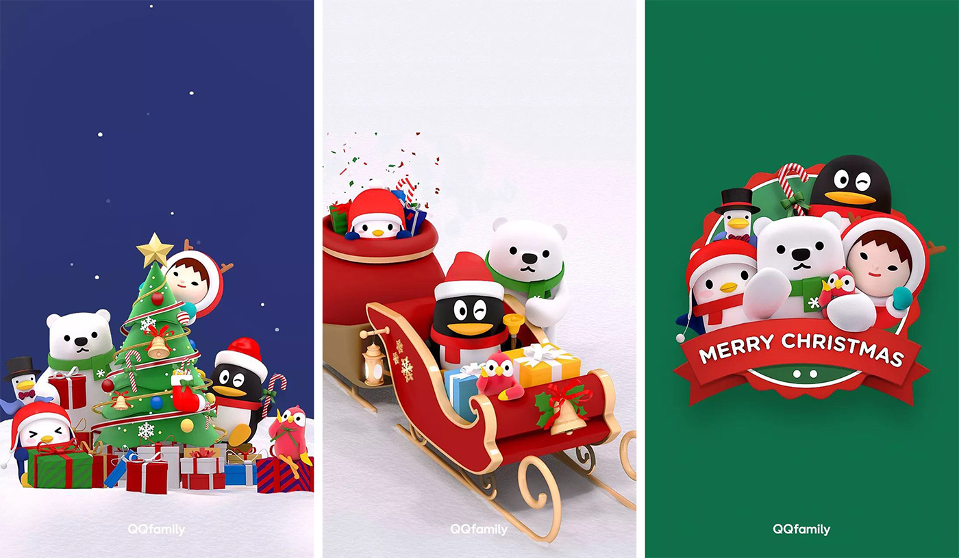 有創意感的32張聖誕節圖片欣賞