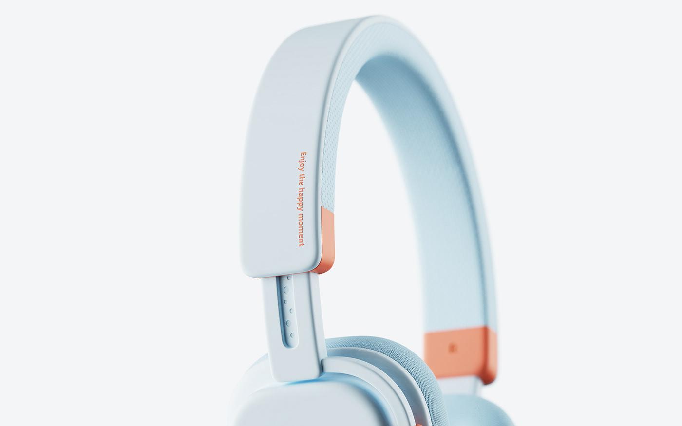 children industrial kids product product design  suosi headphones