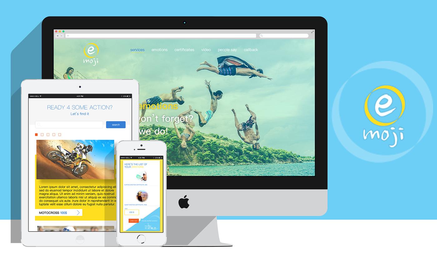 Emoji Online Shop on Behance