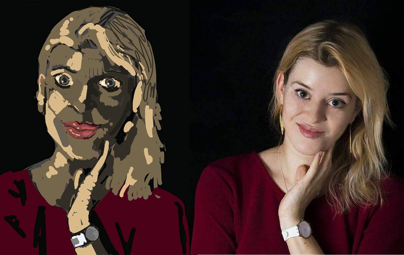 Image may contain: person, human face and cartoon
