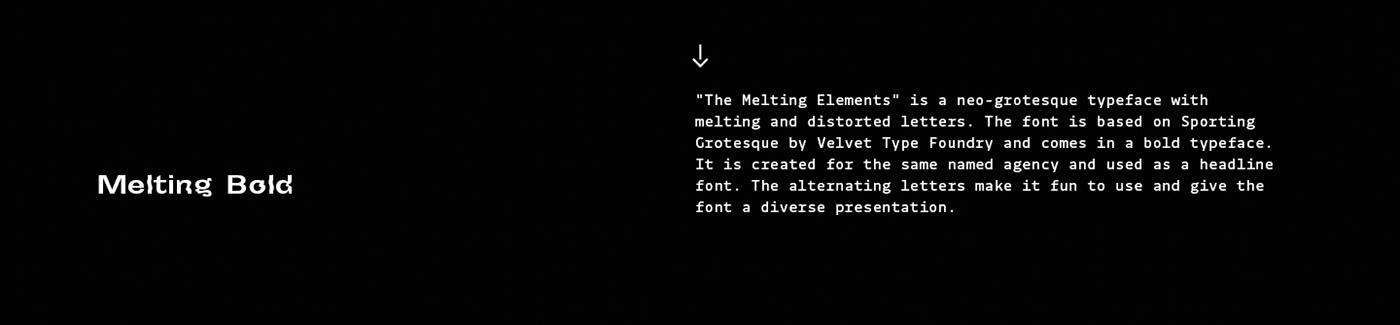Typeface,NEO,DISTORTED,bold,melting,elements,branding ,Custom,font,Melt