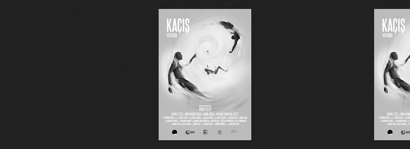 Poster illustration, short movie.