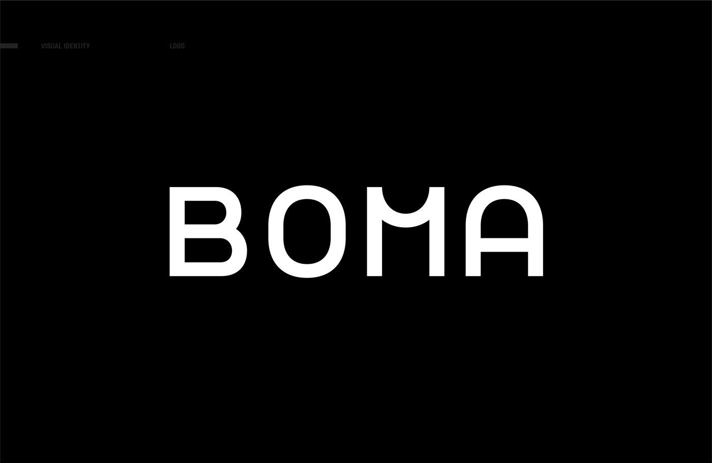 black White type typography   identity modern monospaced simple pink green