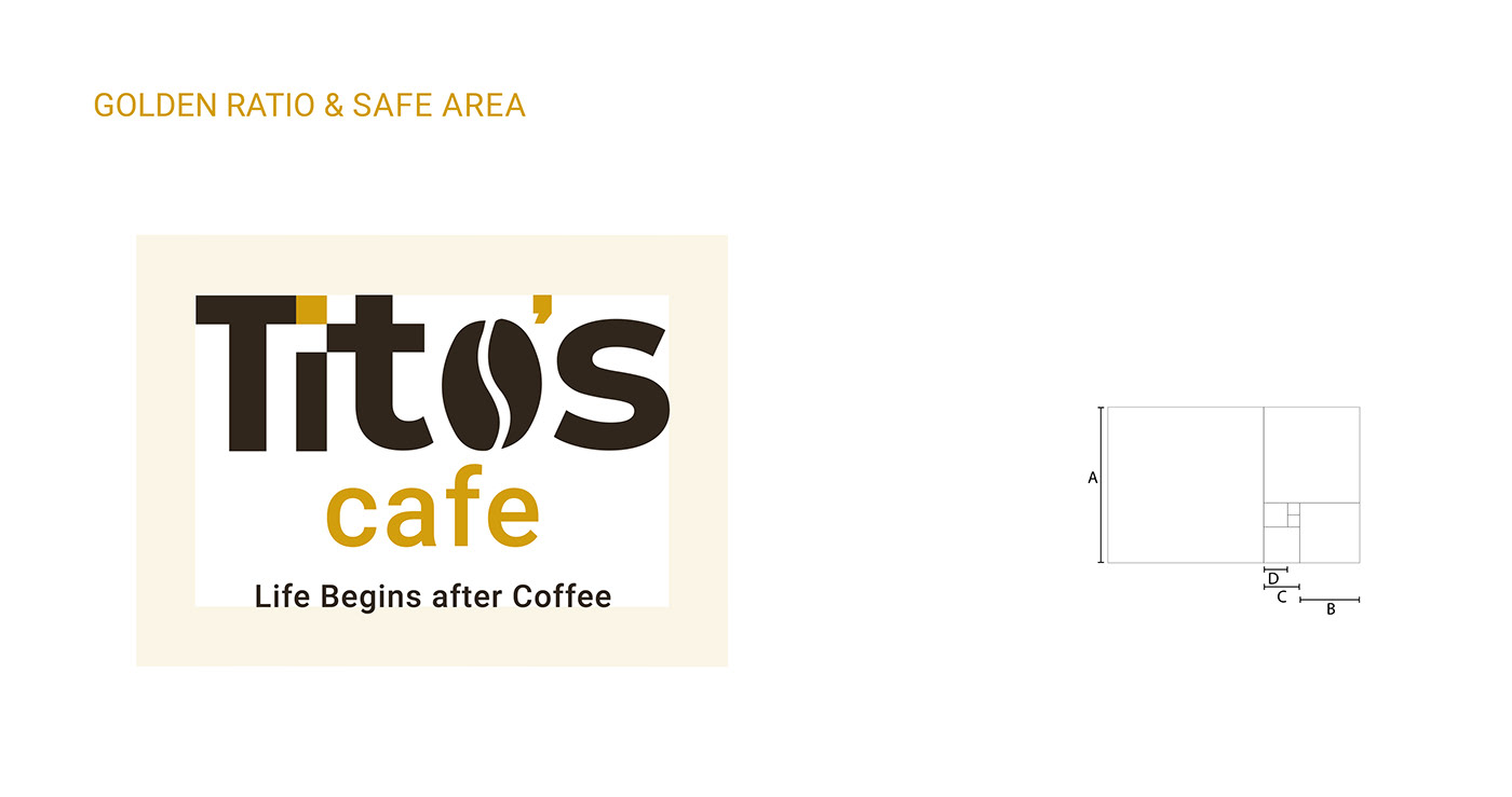 brand,cafe,Coffee,creative,Golden Ratio,logo,Packaging,visual identity