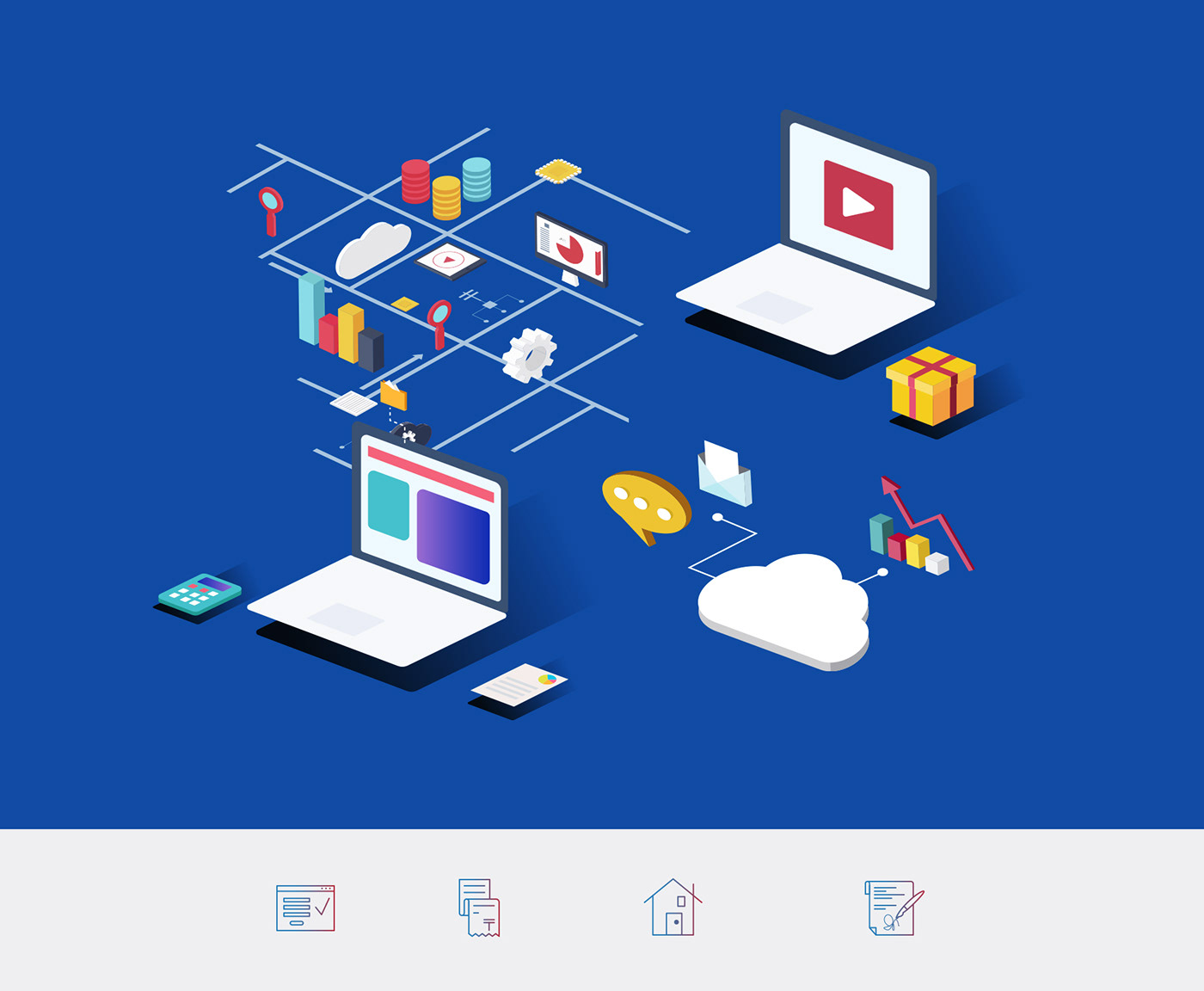 IT Web mobile corporate