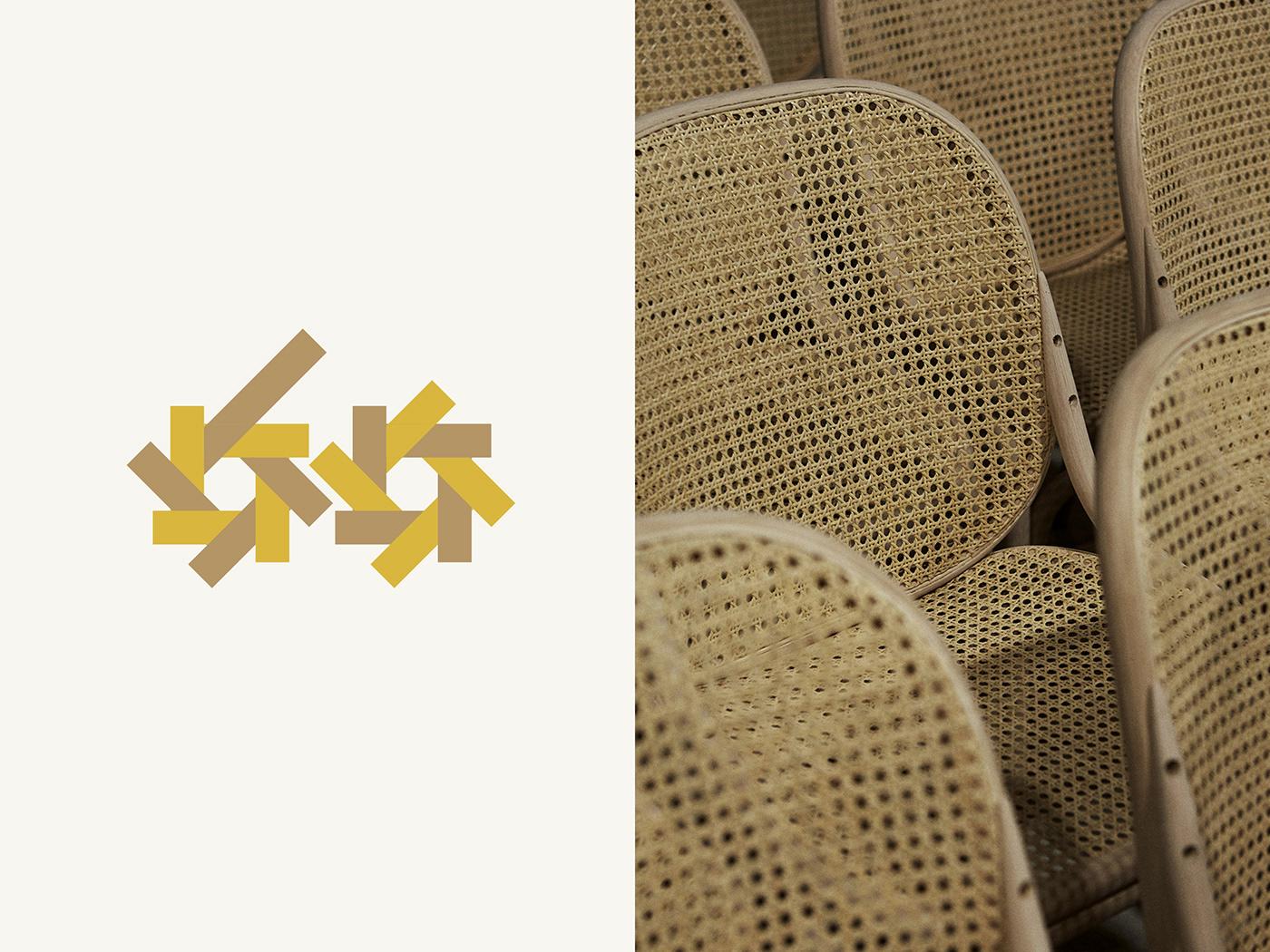 anniversary design furniture identity logo