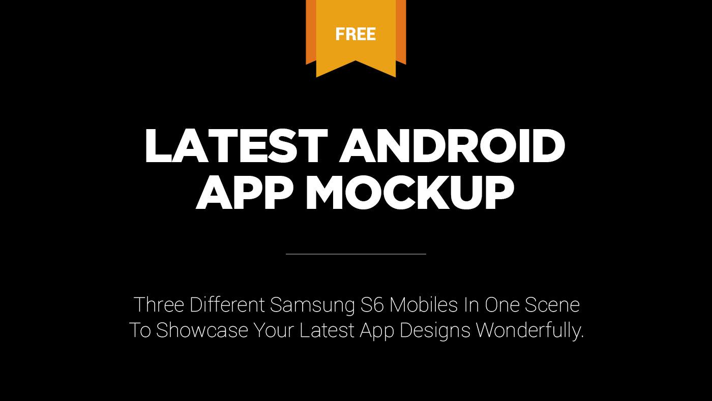 free,freebie,Mockup,psd,photoshop,android,app,app presentation,Mobile app,mobile