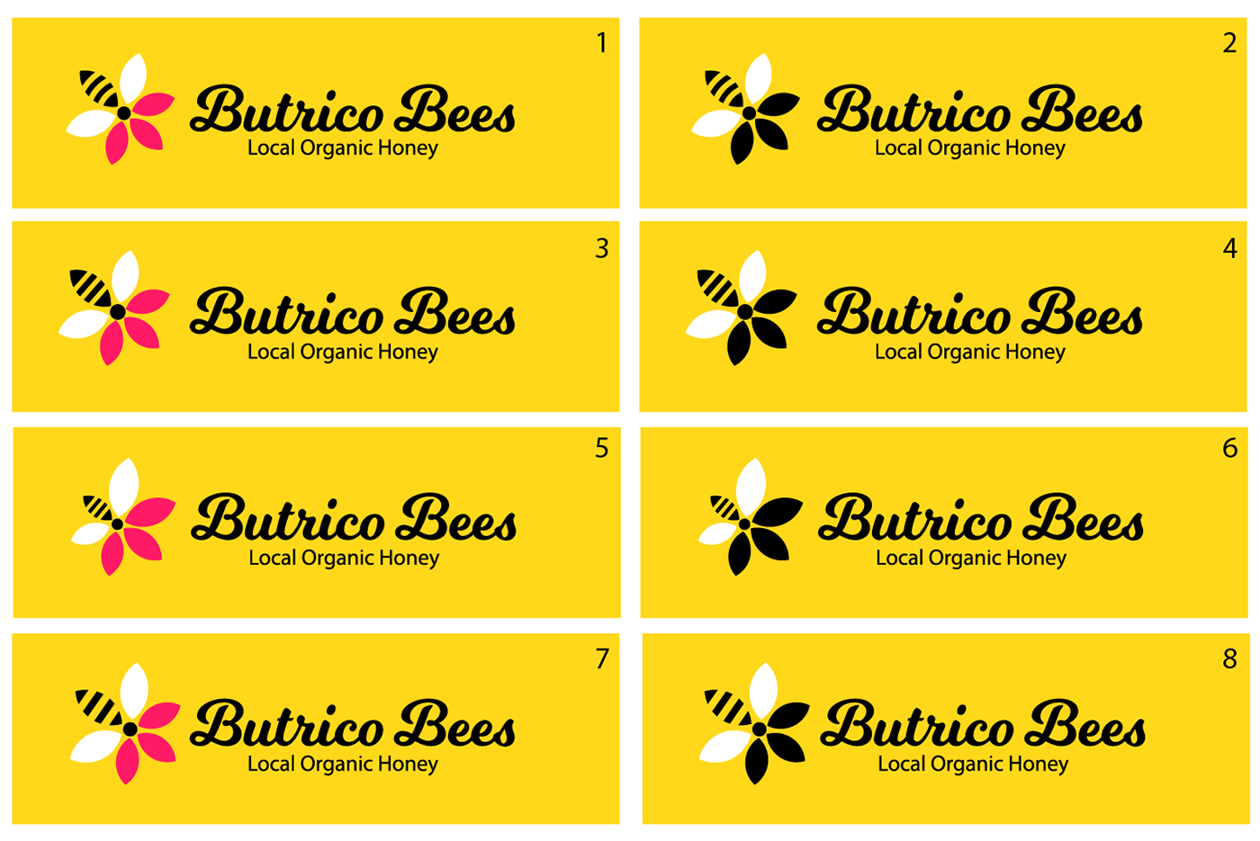 Butrico Bees on Behance