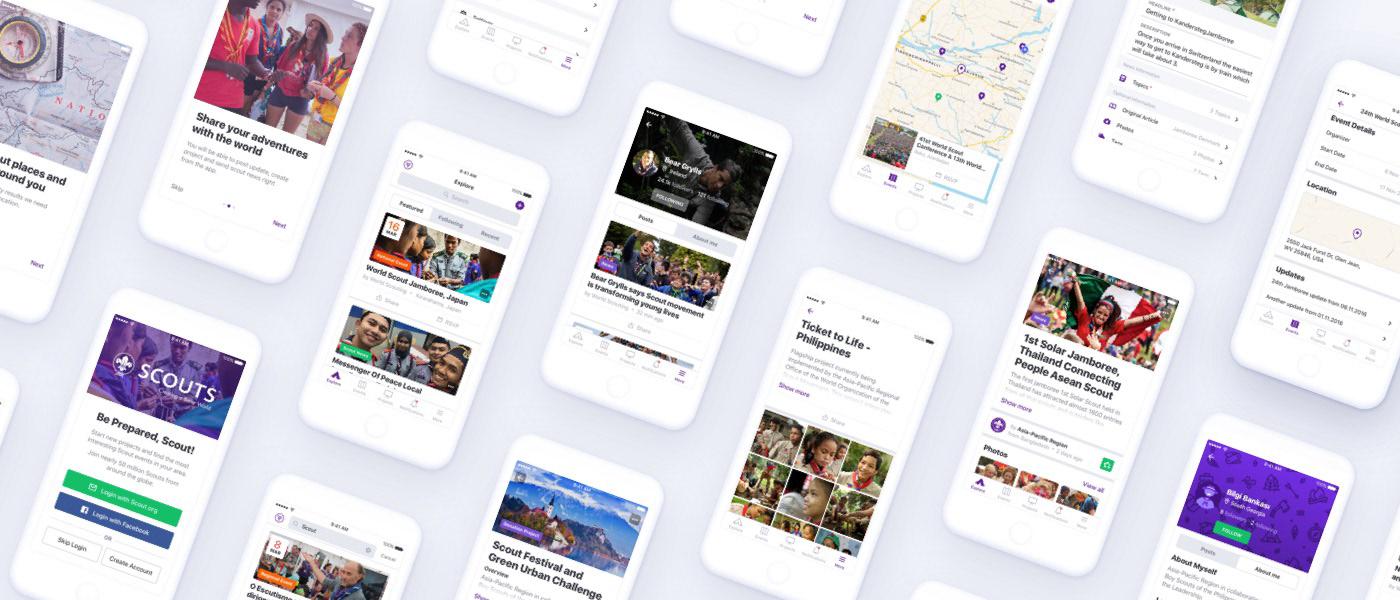 Mobile app ui design UI interface design mobile development visual design style guides icons user flow