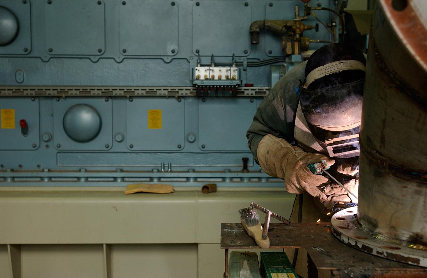Adobe Portfolio manufacturing industry infrastructure Corporate Identity