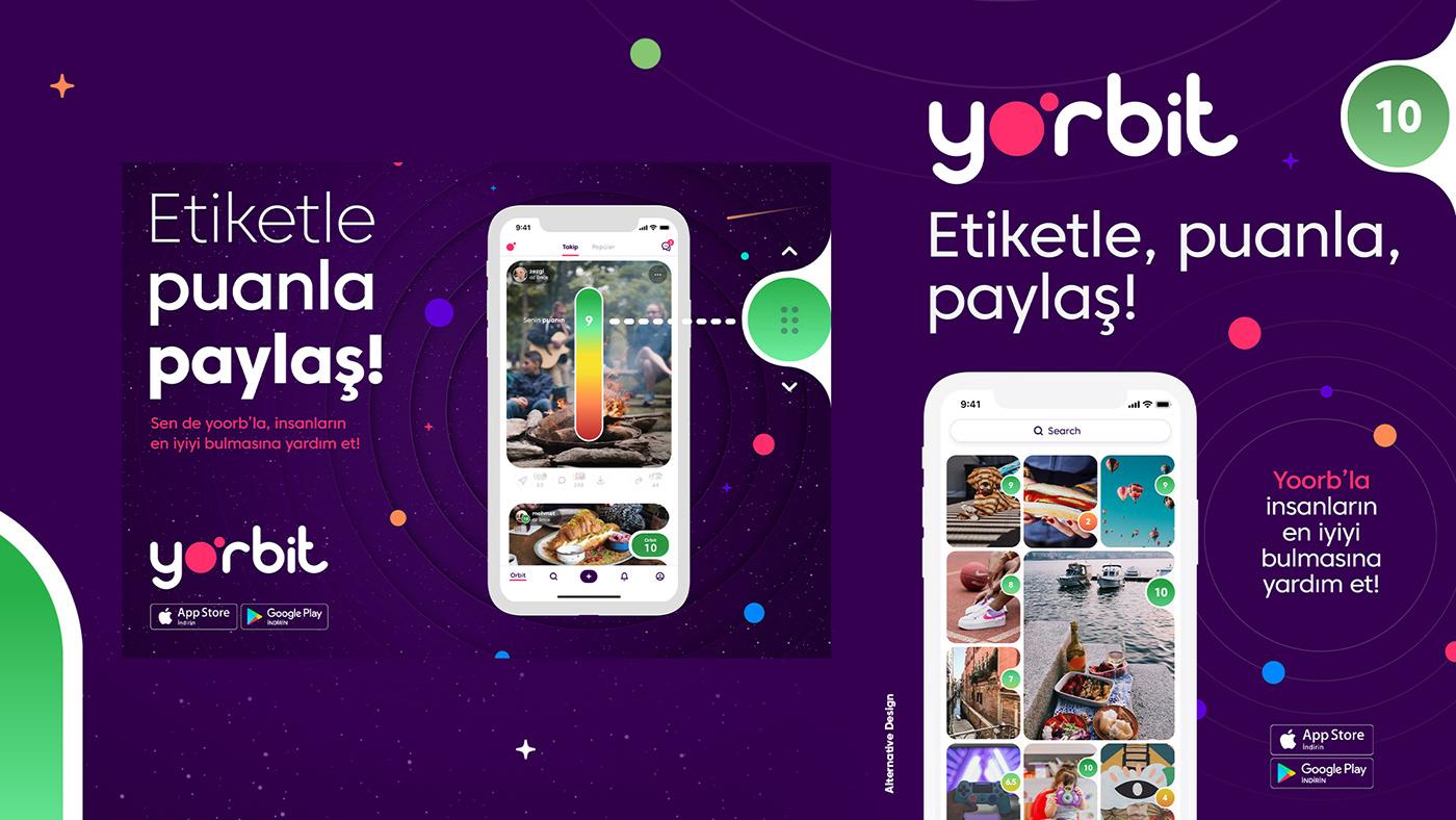 application graphicdesign Keyvisual poster yoorbit