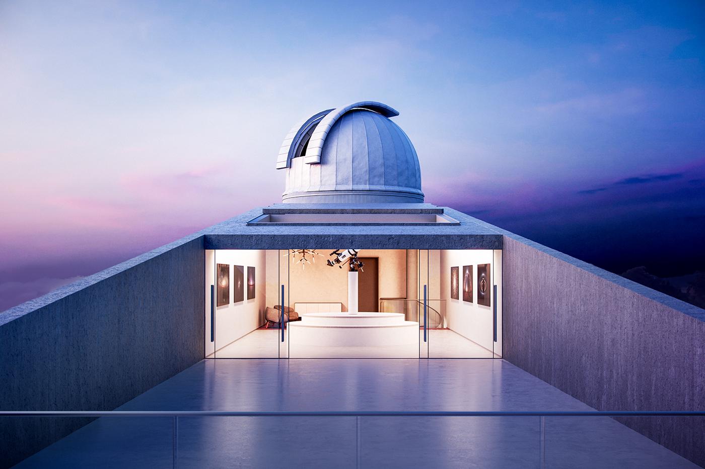 Nudes Proposes A Flamingo Observatory Built