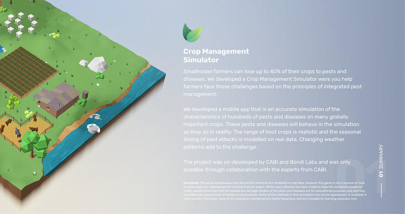 andoird app game simultation UI ux design Creative Direction  product design  unity3D