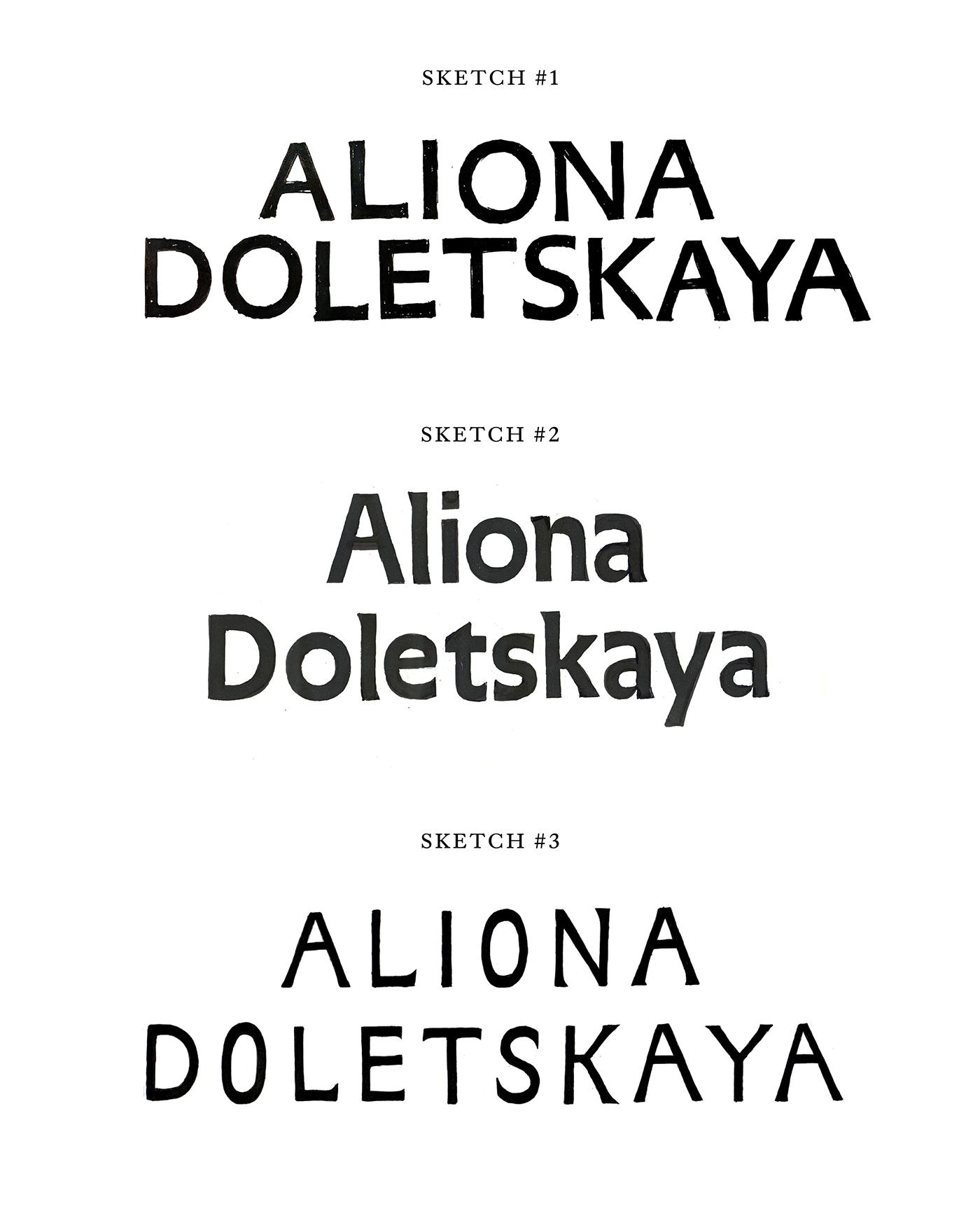 branding  Fashion  typography   abbreviation Caslon british russian
