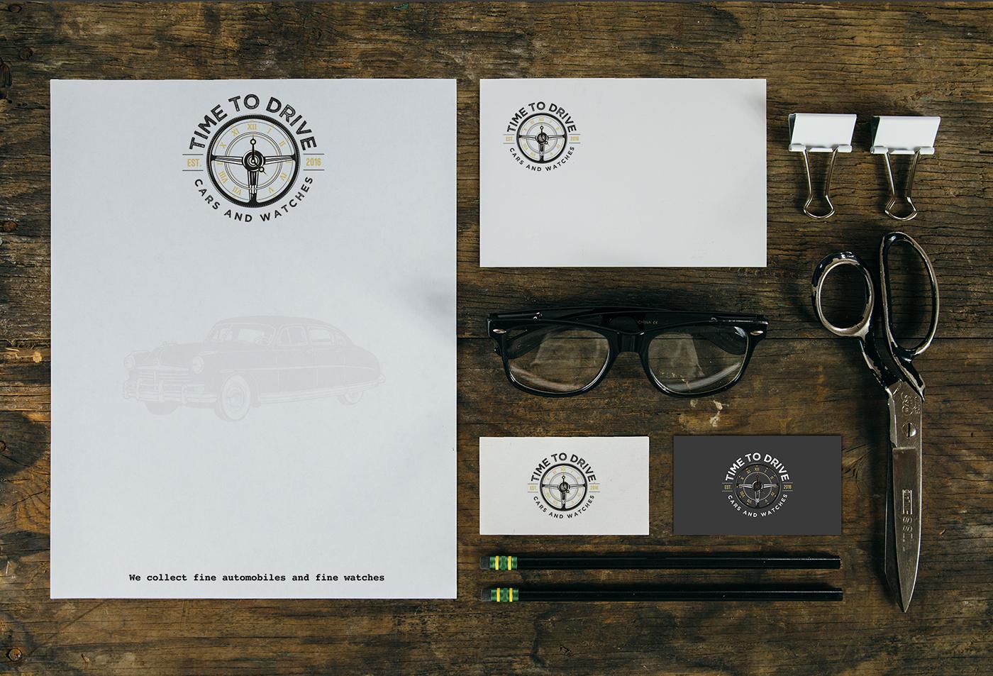 logo branding  watch steering wheel vintage Retro watch face