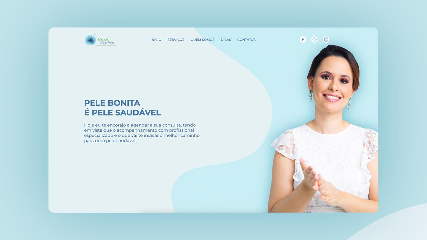 css HTML JavaScript landing page site user interface ux Web Web Design  Website