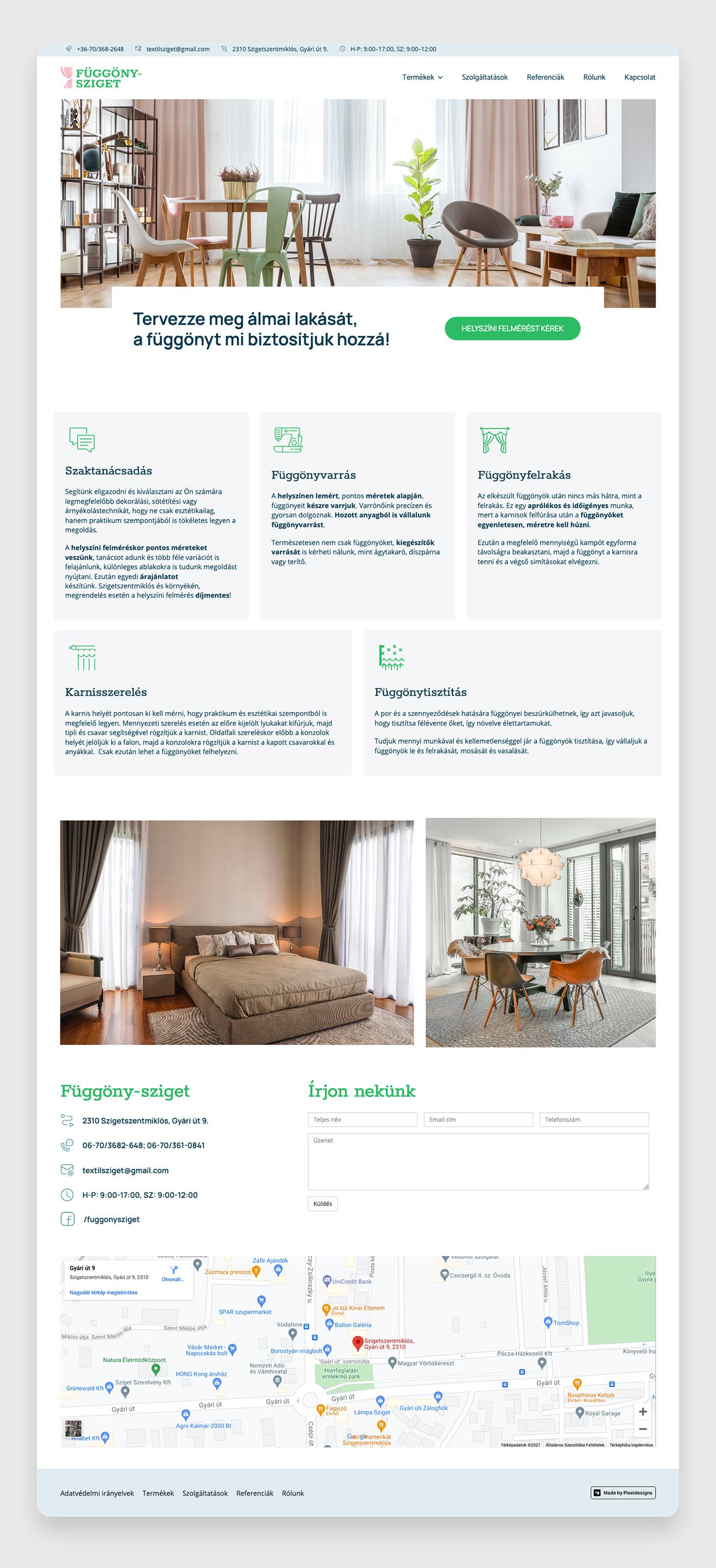 design Web UI Webdesign webpage wordpress