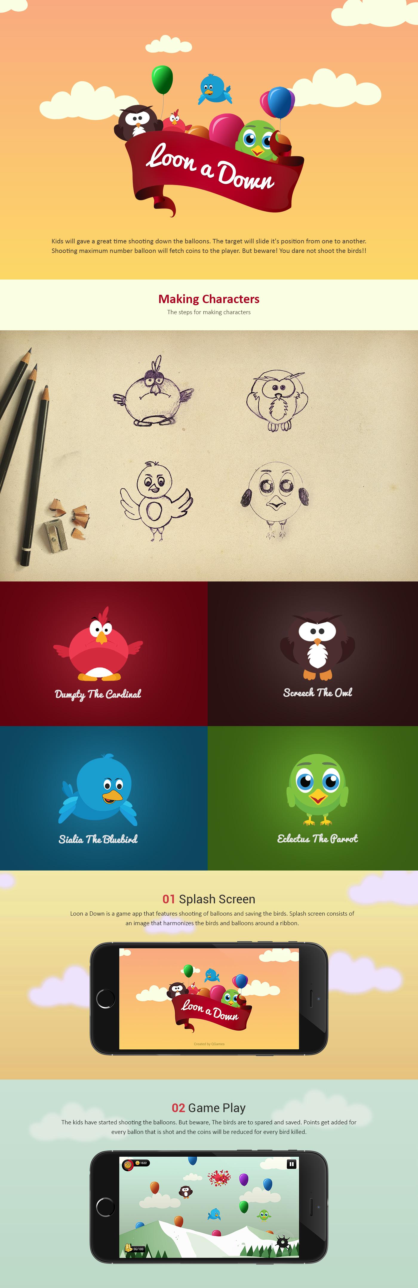 game iphone app iOS App Game App baloon birds