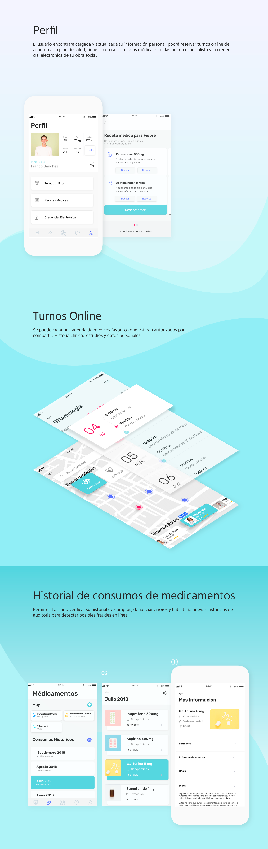 ux UI app Health concept app