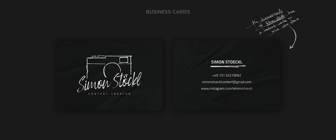 SIMON STÖCKL // Businesscards