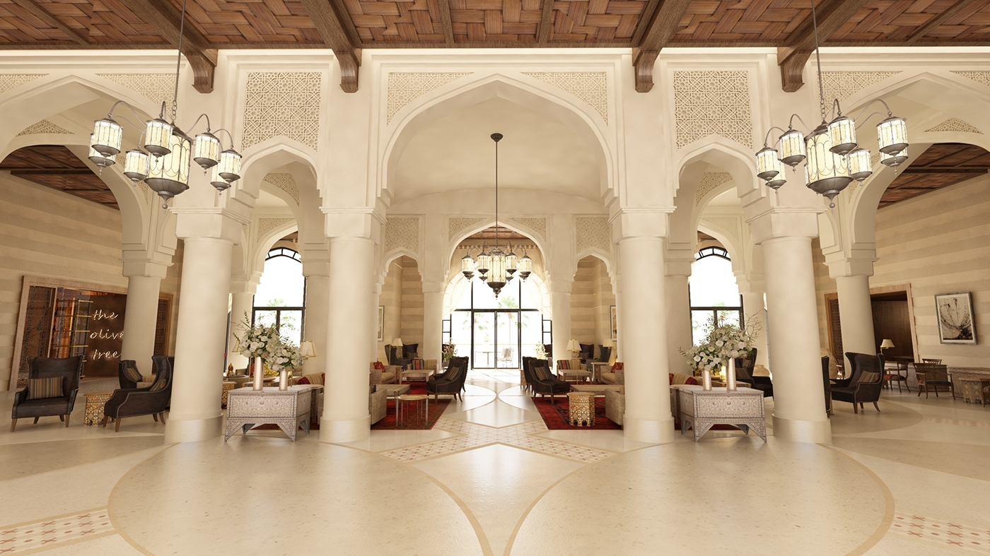 Luxury collection hotel jordan on behance for The luxury collection hotel
