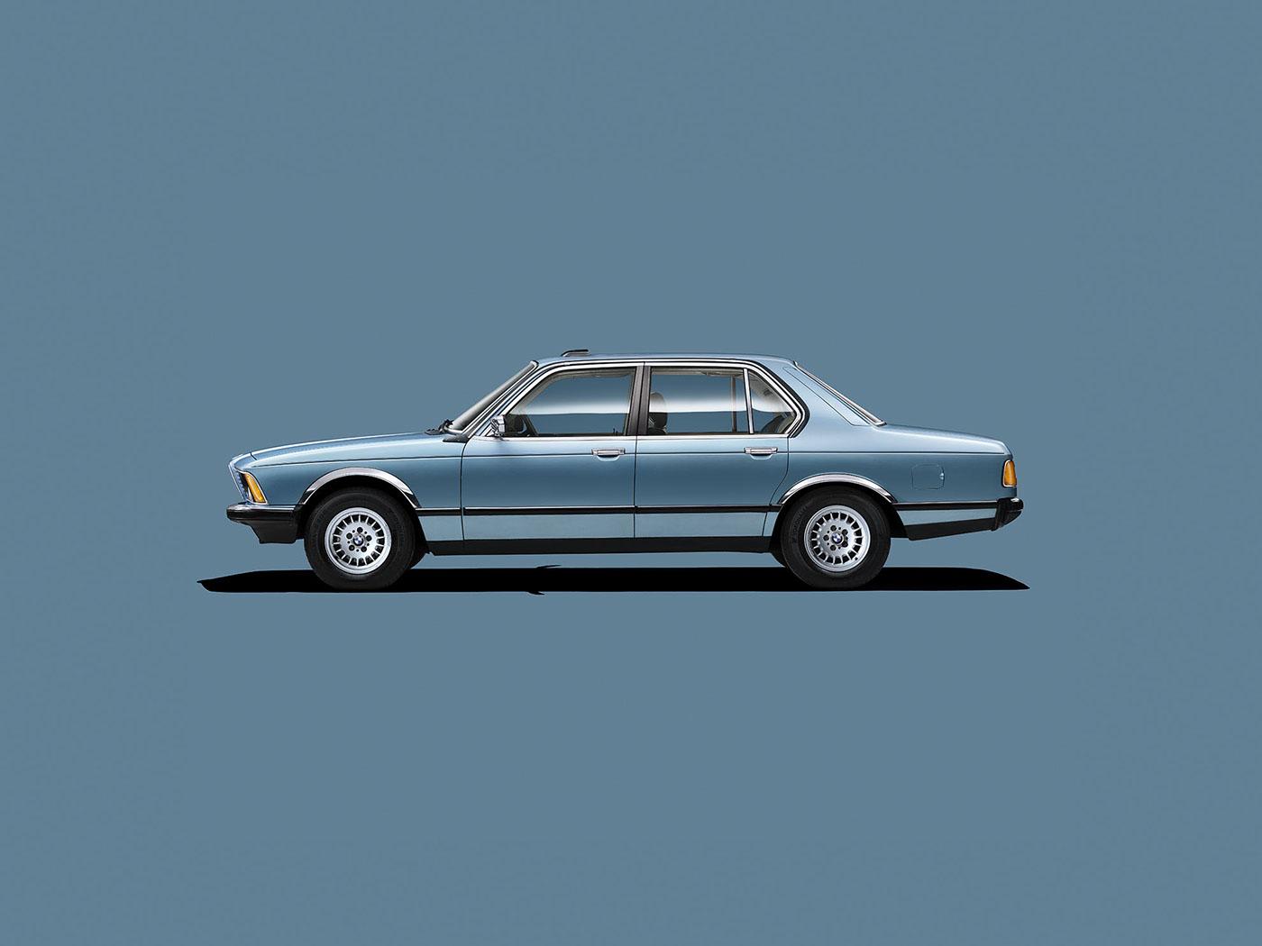 BMW Classic Cars Calendar on Behance