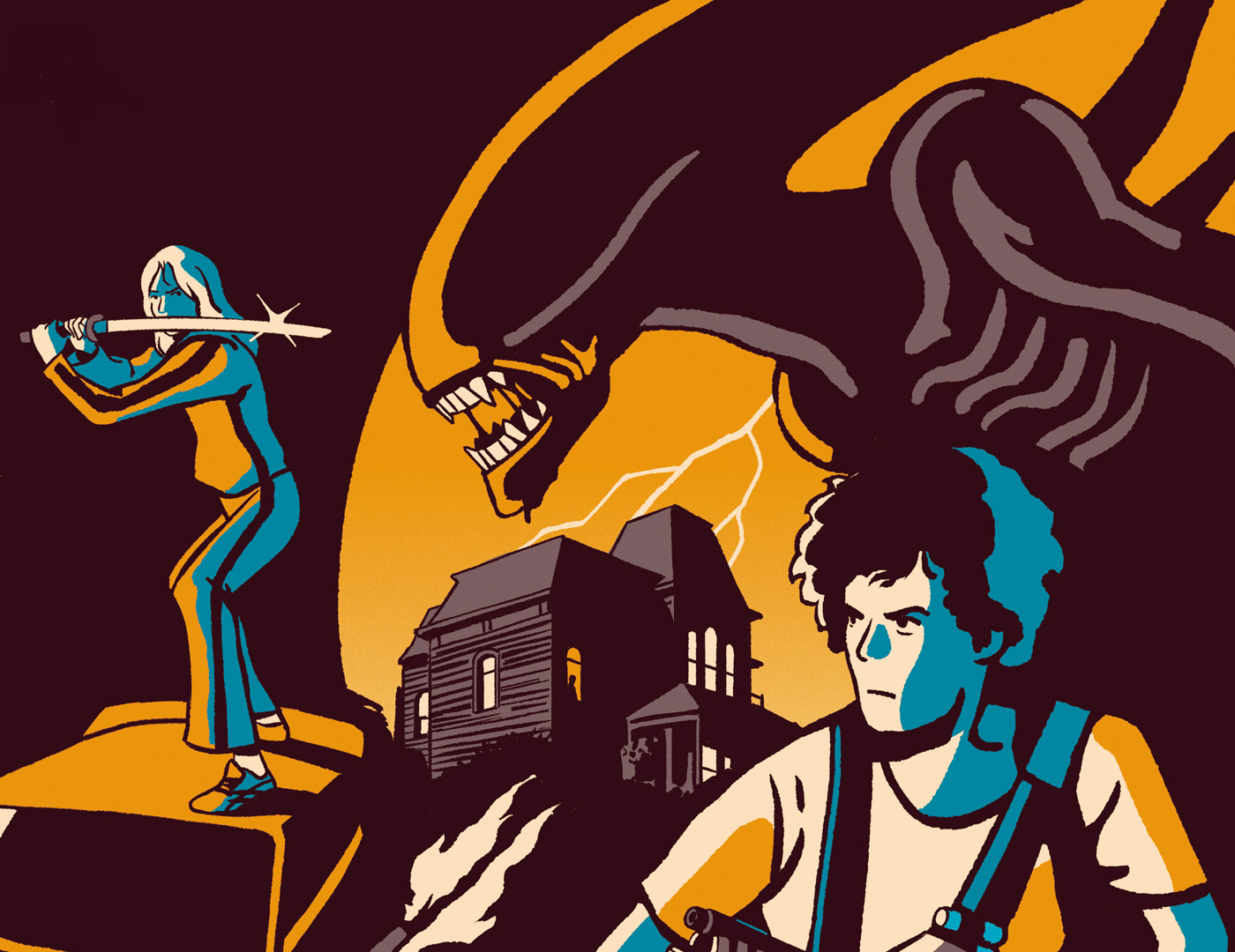 alien Cinema Film   hollywood madmax magazine press Starwars Tarantino Premiere magazine