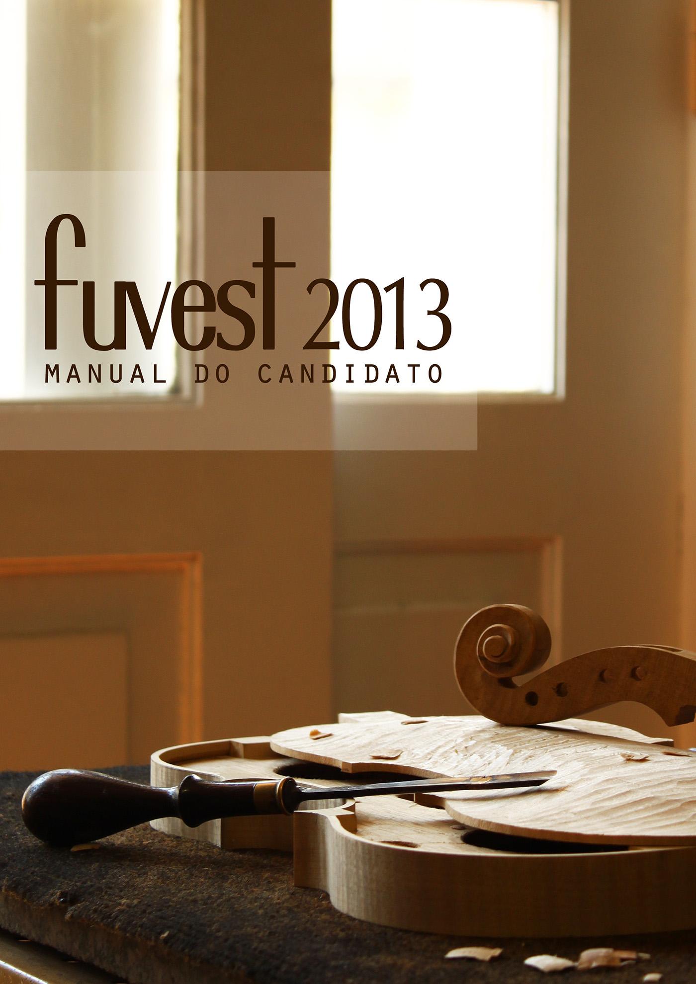 manual da fuvest 2013 on behance rh behance net Aprovados Fuvest 2014