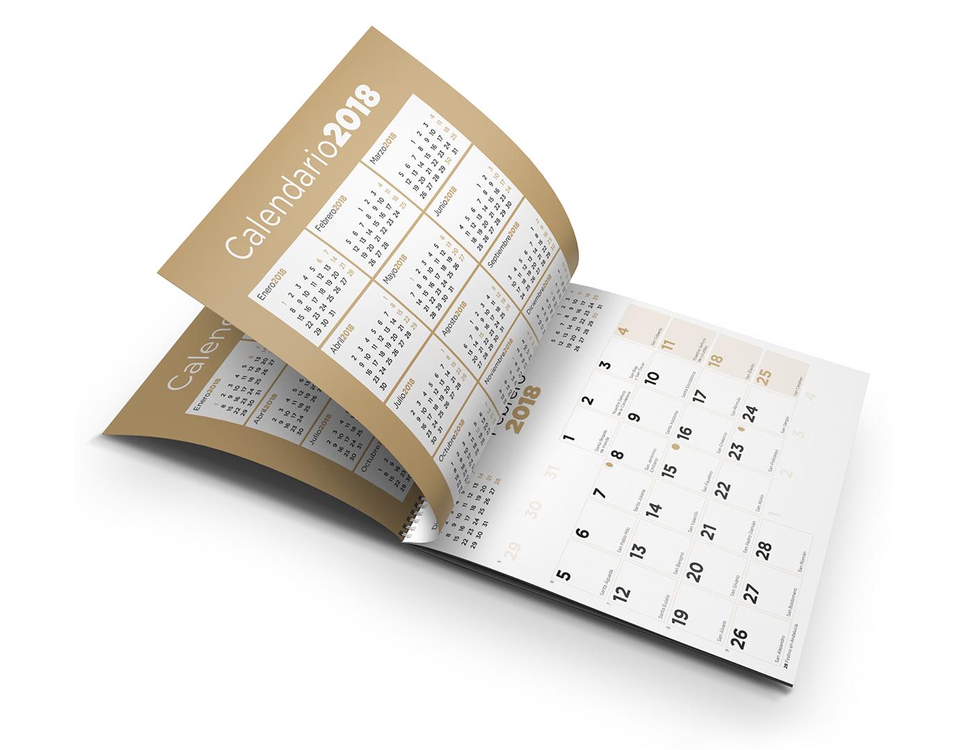 """Grupo Erik - """"Calendarios 2018"""" on Behance"""