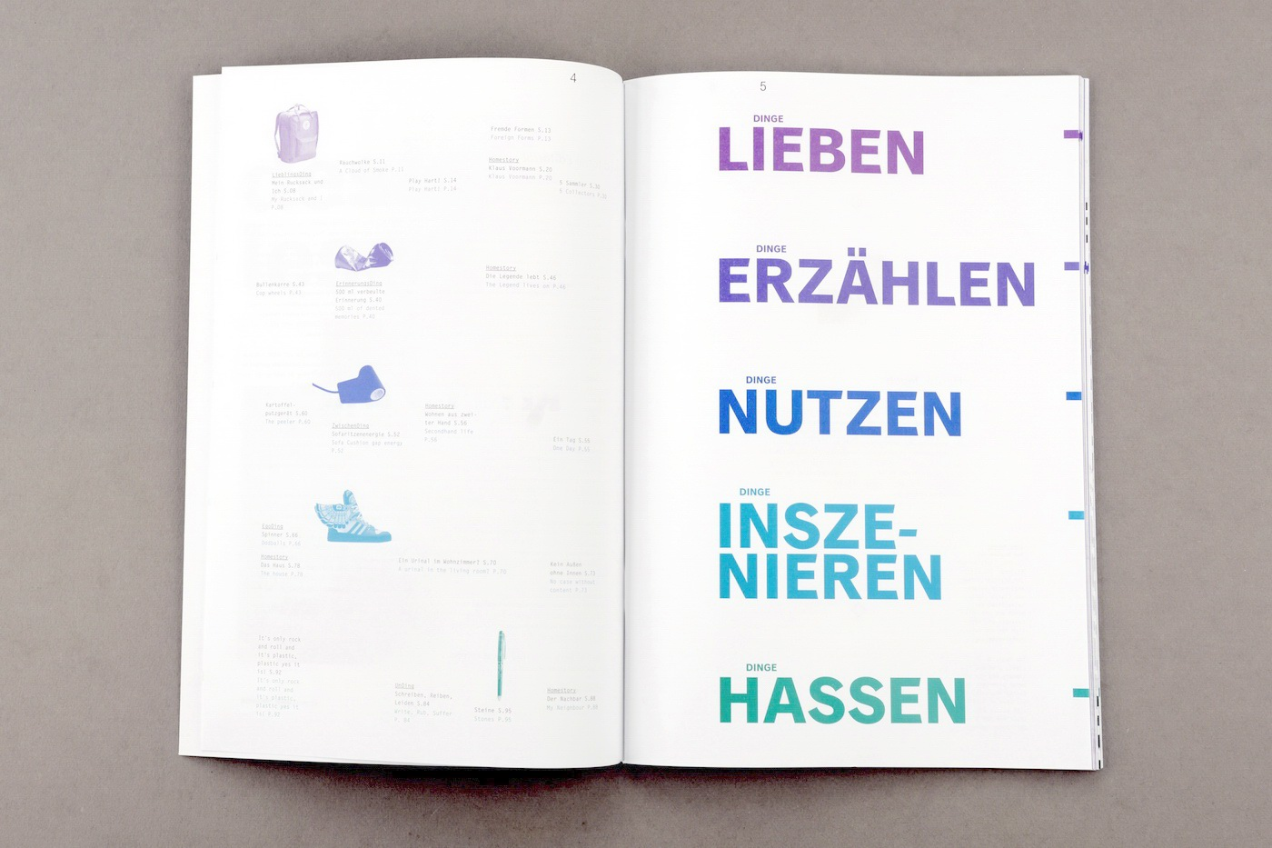 magazin magazine ding Hochschule München Publikation print writing  Form Story telling the form