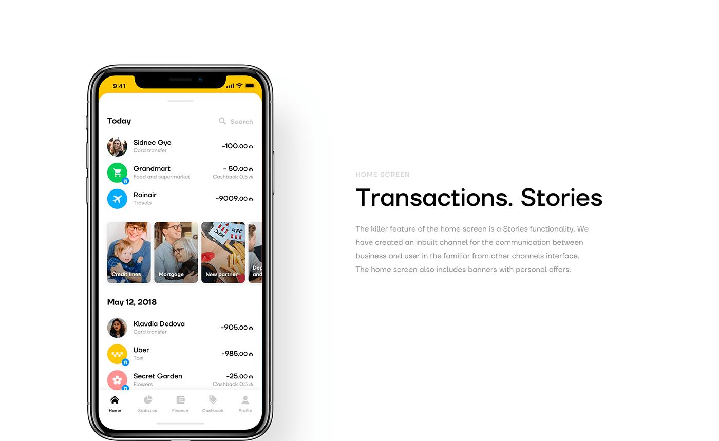 banking financial app Fintech mobile banking WALLET MOBILE BANK online bank finance Mobile app UI/UX