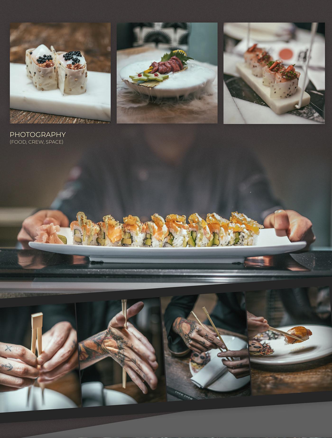 asian Photography  restaurant graphic design