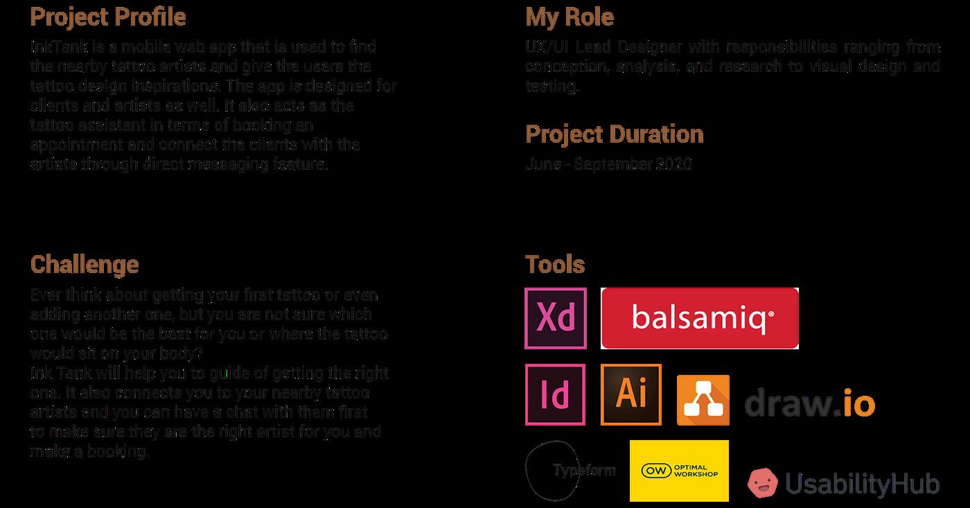 app design AR design research design thinking mvp product design  tattoo app ui design UX design