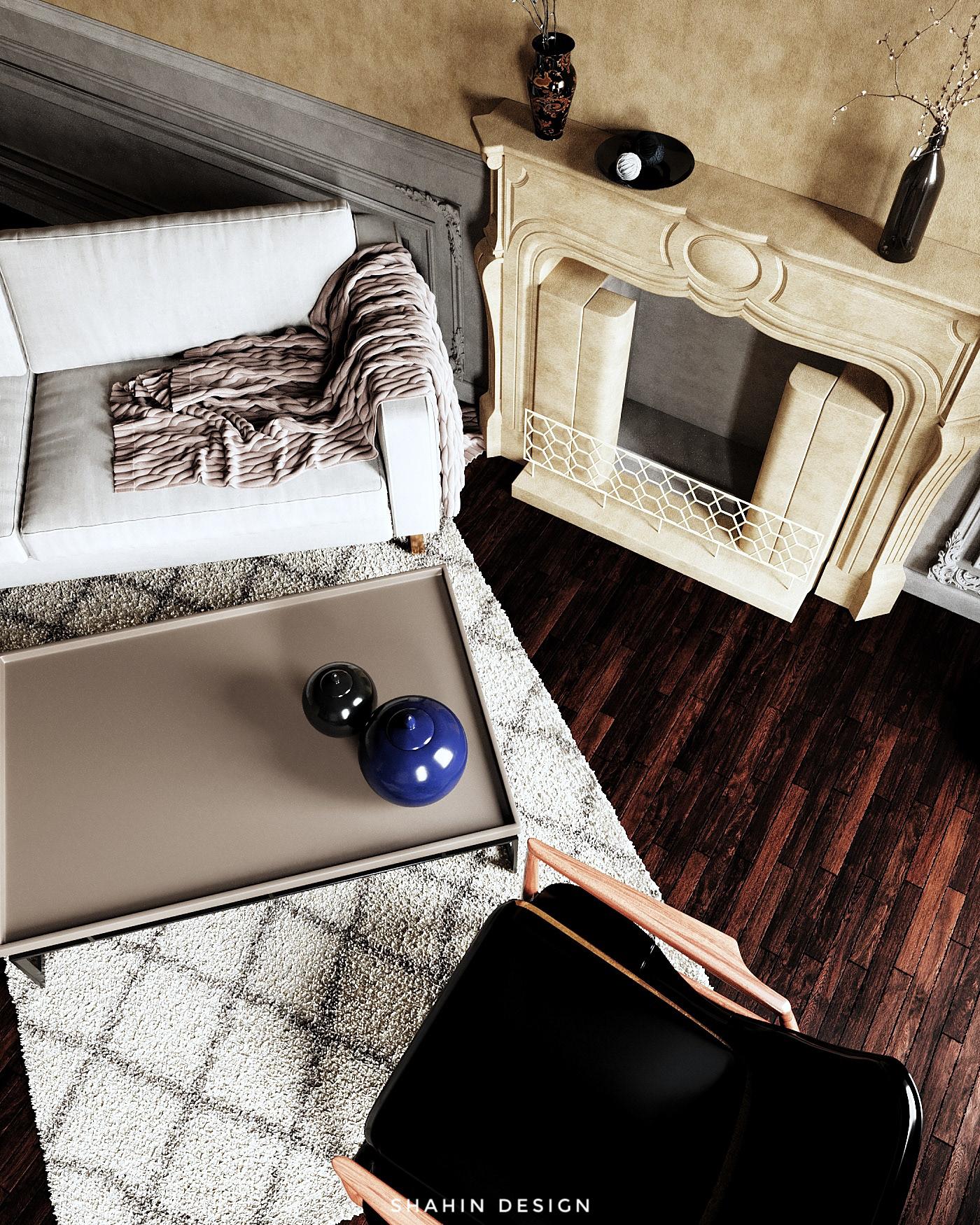 3ds max archviz CGI corona render  interior design  Interior Visualization Moody Interior Render