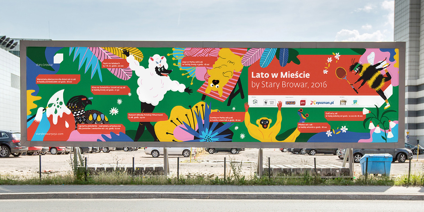 lato,summer,stary,browar,design,UVMW,ILLUSTRATION ,campaign,Advertising