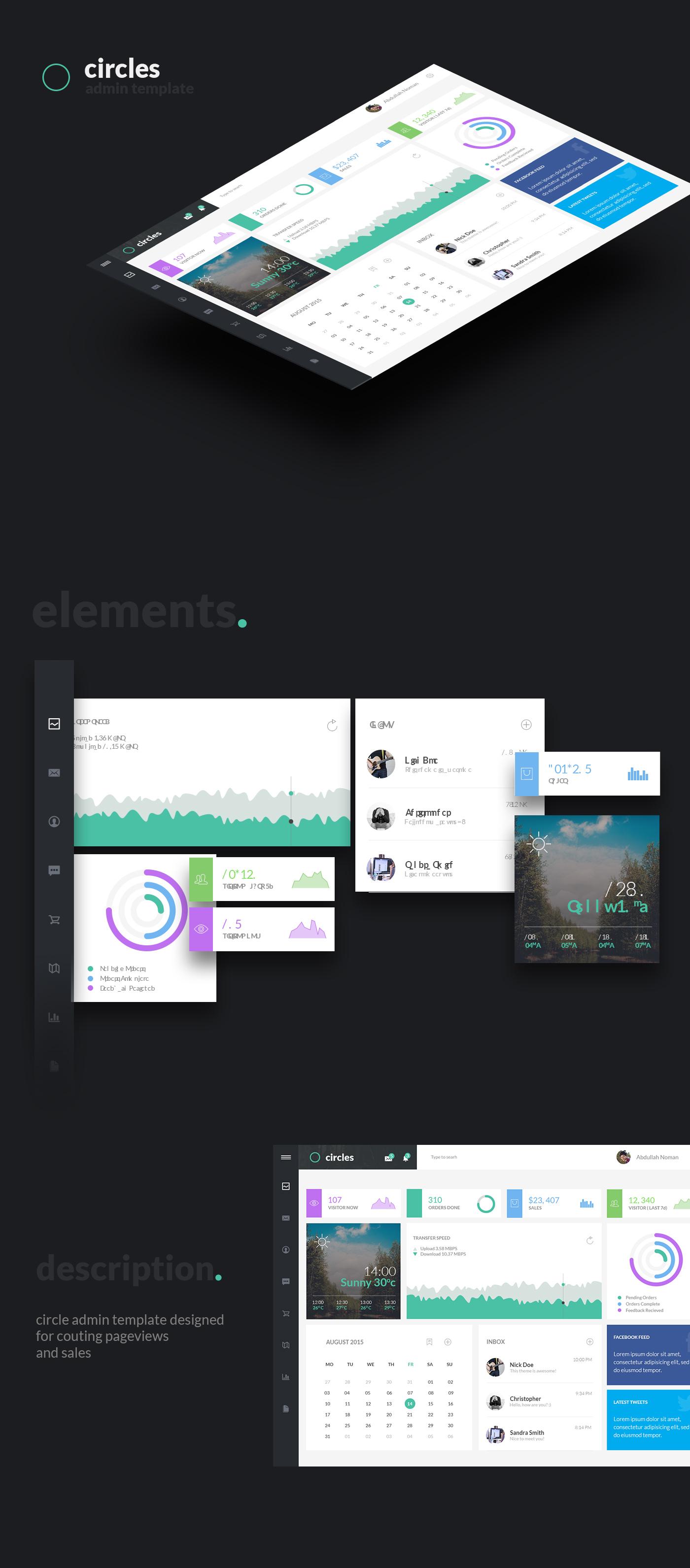 Circle - Dashboard Admin Template