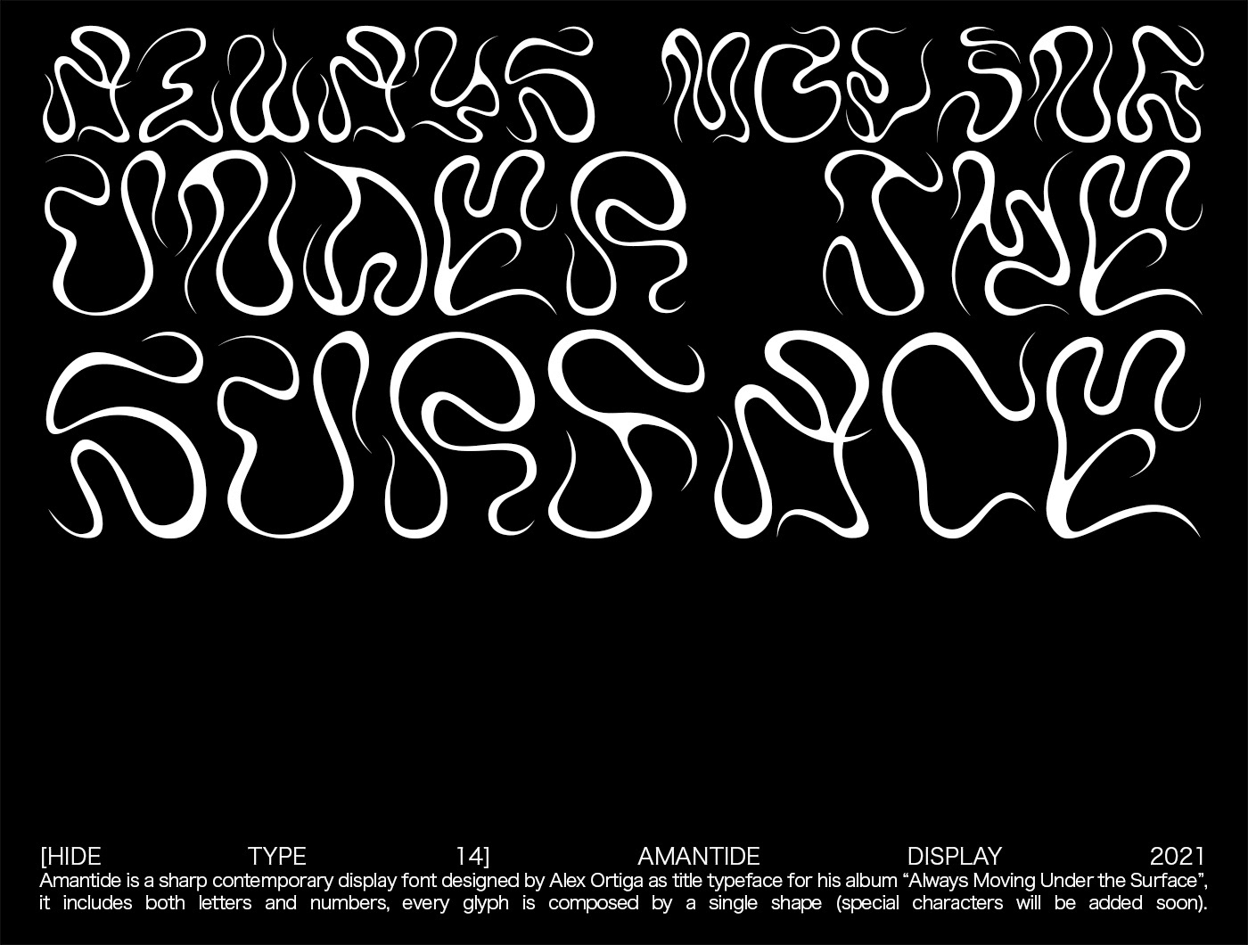 abstract font Experimental font font NEW GRAPHICS type type design Typeface weird design