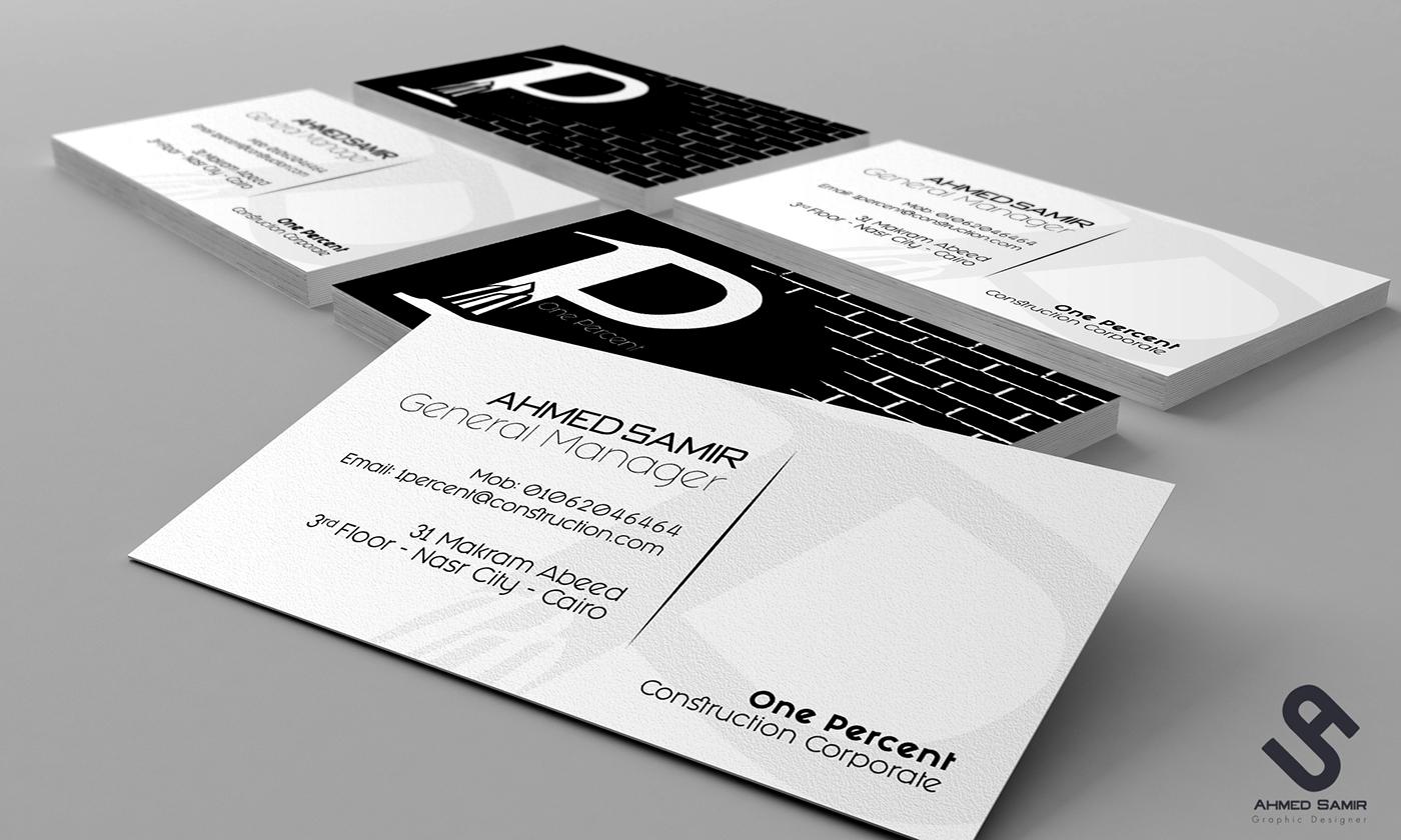 1 Percent Branding Materials on Behance