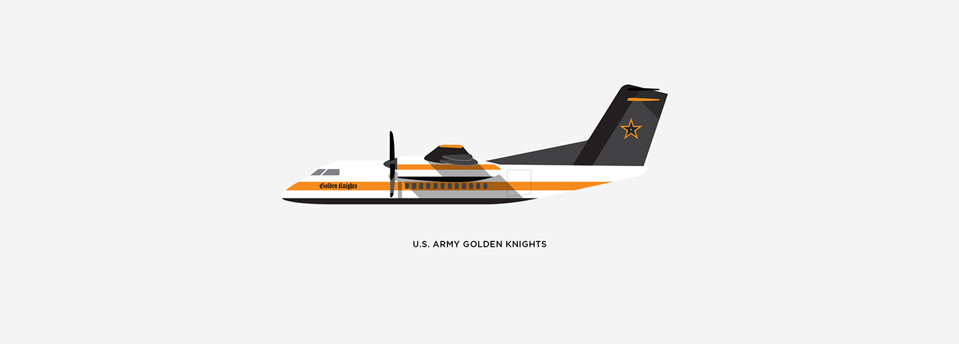 branding  KC Air Show aviation usa america festival patriotism Air Show ILLUSTRATION  design