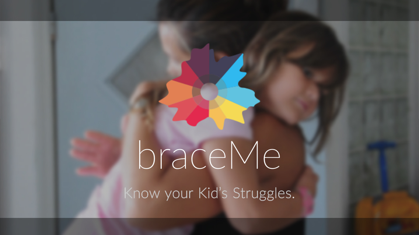 braceMe Wristband Wearable stress monitor security app parents freedom communication feelings gsr pulse children child