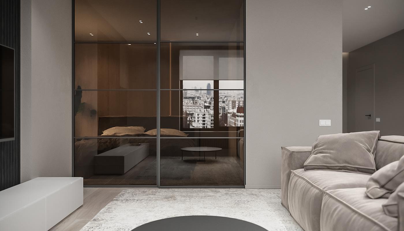 Image may contain: wall, indoor and sofa