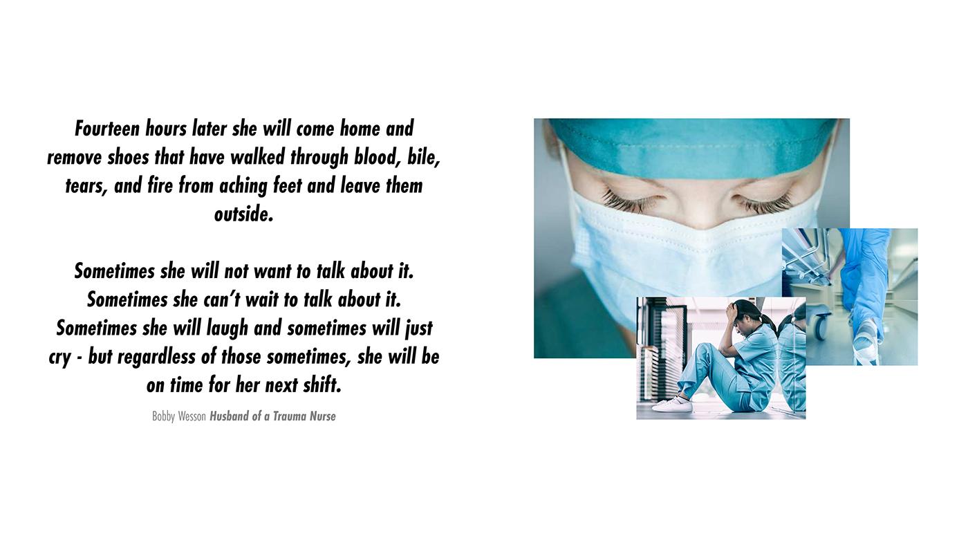 NIKE RN (Registered Nurse) FOOTWEAR PROJECT on Behance