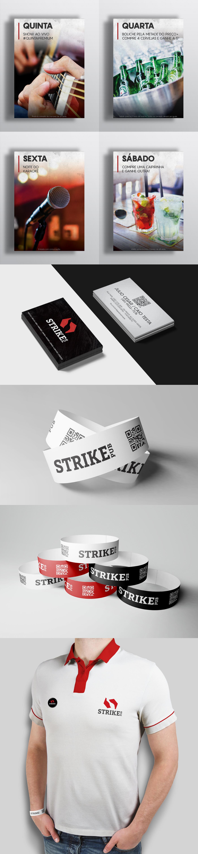 brand strike bowling Pool Website facebook post strike pub aleto aleto design aleto design digital